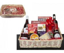 NEW DIY RECTANGULAR HAMPER KIT MAKE YOUR OWN XMAS GIFT SET BASKET HOUSEHOLD