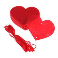 Rideaux d'amour, bannières de banderoles non tissées, pour mariage décoration
