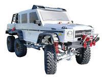 AMXrock Silver Bullet V2 Crawler Geländewagen Realistic Scaled Body 6x6 M 1:10