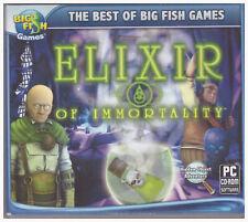 PC Big Fish CD Elixir of Immortality Hidden Object Adventure Windows XP 7 Vista