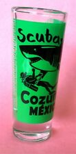 Scuba Diving Cozumel Mexico Brand New Tall Shot Glass