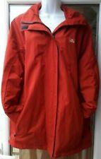Tresspass Mens Waterproof Jacket Hooded Elasticated Cuffs Zip Fastening Size L