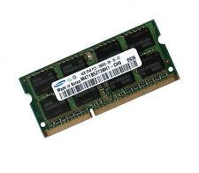 4gb de mémoire pour pc portables avec Core i7-3615qm pour DIMM ram samsung ddr3 1600 MHz