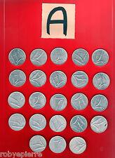23 monete 10 lire repubblica italiana dal 1951 al 1956 dal 1968 al 1985 lotto A
