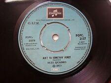 "SUZI QUADRO QUATRO POPC 2137  SKY RARE SINGLE 7"" 45 RPM INDIA INDIAN VG+"