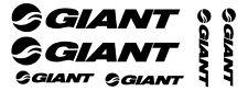 6 pegatinas de vinilo GIANT para bicicleta,no 253
