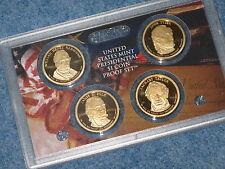 2009-S Presidential Dollar Coin Four Set Gem DCAM Proof