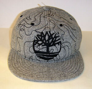 NWT Timberland Baseball Cap Hat Fitted Black White Brown Gray Ball Caps Genuine
