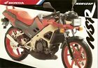 Motorcycle Brochure - Honda - NSR125F - 1991 (DC09)