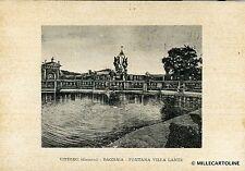 BAGNAIA - Fontana Villa Lante - 1969