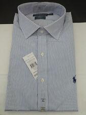 "Polo Ralph Lauren Camisa Blanca Regent Ajuste Personalizado tamaño de banda 17"" Top BNWT RRP £ 80"