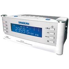 AM/FM ATOMC CLK W/LCD WHT