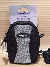 Genuine Samsonite DF15 Camera Case - Polytex Carry Bag & Strap 105x70x45mm - NEW