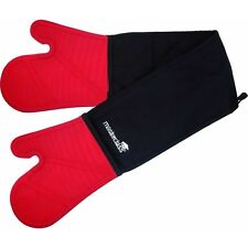 Kitchen Craft Silicone Oven Mitts and Pot Holders in Double