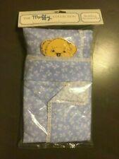 Muffy Vanderbear Collection Bedding Accessories! Sheet, Blanket & Pillow Nip