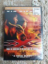 Xxx (Dvd, 2002, Full Screen Special Edition) Vin Diesel New