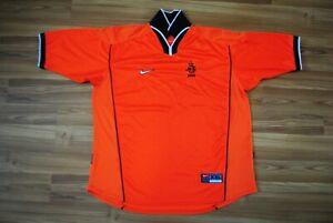 SIZE XXL HOLLAND NETHERLANDS 1988-2000 HOME NIKE FOOTBALL SHIRT JERSEY ORANGE