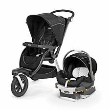Chicco Activ3 Baby Jogging Stroller with KeyFit 30 Car Seat Travel System Crux