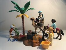 Playmobil Lot Stunning Lawrence of Arabia Oasis Animals Gertrude Bell Egypt!