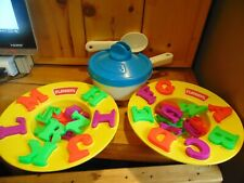 Playskool Alphabet Soup Vintage Preschool Kid Learning ABC Toy Game 1991