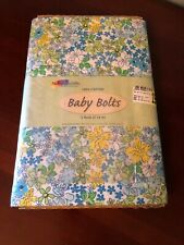 NEW FABRIC PALETTE BABY BOLT QUILTING FABRIC LOT 3 YARDS - Blue, Green, Yellow