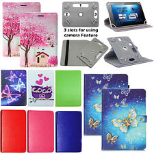 Universal PU Leather Stand Cover Case For Lenovo Tab M8 M10 P10 E7 E8 E10 Tablet