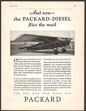 1930 T.A.C. Thompson Aeronatutical Transamerican Stinson Aircraft Packard AD