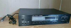 Vintage Studio Standard Fisher AM/FM Stereo Synthesizer Tuner FM-2421 **BLACK