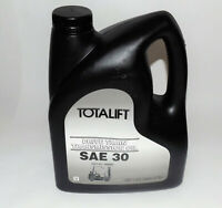 NEW! Clark Totalift SAE 30 Drive Train Transmisson Oil : 1 Gal (1806885) {D1630}