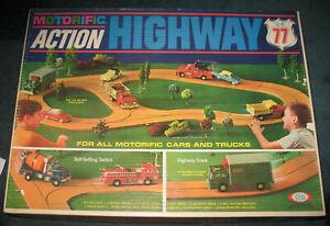 Ideal Motorific Action Highway 77 Track Set-NO VEHICLE