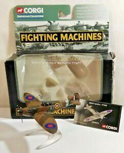 CORGI FIGHTING MACHINES SPITFIRE P7350 BATTLE OF BRITAIN MEMORIAL FLIGHT CS90274