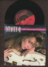 "Stacey Q - Don't Make A Fool Of Yourself - 1988 7"" picture sleeve single 45rpm"