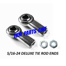 Deluxe tie rod ends 5/16-24 R/H Thread Go Kart, Mower, Yard Kart, Pack of 2