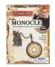 Adult 1920s Steampunk Victorian Fancy Dress Costume Monocle Monacle