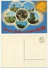 30995-Janz Berlino is allupato NUVOLA-vecchia cartolina
