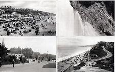 Lot Of 4 Antique Original Postcards Of Bournemouth