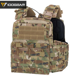 IDOGEAR Tactical Vest CPC Cherry Plate Carrier Camo MultiCam Molle Military Army