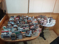 Lot of 150 The Cat's Meow Buildings Houses Huge Collection