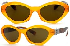 Versace Damen Sonnenbrille VE4334 5257/73 54mm orange cat eye Vollrand 134 33