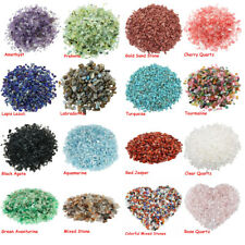Natural Crystal Mixed Tumbled Chips Crushed Stone Healing Beads Decoration