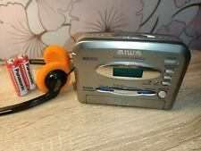 More details for serviced aiwa rx118 personal stereo new belt walkman cassette player radio