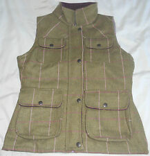 Ladies Tweed Gilet/Body Warmer - Sizes 8-14 - Shire Classics - Made in the UK