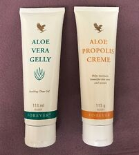 Forever Living Aloe Propolis Creme & Aloe Vera Gelly - Brand New Sealed UK FR/DE