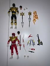SDCC 2019 Power Rangers Lightning Collection RED ARMOR GOLD ZEO Hasbro Exclusive