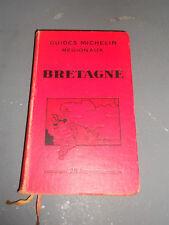 GUIDE MICHELIN BRETAGNE 1931-1932