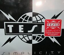 Simplicity  by Tesla NEW! CD 14 tracks, Hard Rock,Free Shipping!