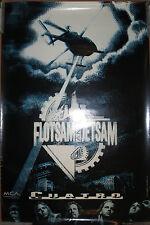 Flotsam & Jetsam Cuatro. Mca promotional poster, 1992, 24x36, Vg, metal