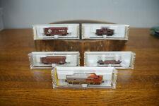Lot of Z Scale Micro Trains Santa Fe F-7 Locomotive Engine Caboose & More
