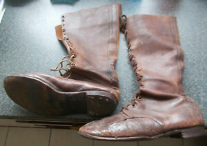 WW1 Style Officers Boots