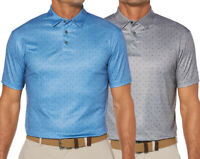 New Grand Slam Men's Classic-Fit DriFlow Geometric Performance Golf Polo MSRP$55